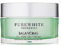 Perfumería y cosmética Crema facial en gel con niacinamida - Pure White Cosmetics Balancing Oil-Free Gel Cream