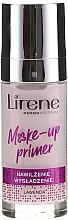 Perfumería y cosmética Prebase de maquillaje refrescante lavanda - Lirene Make-Up Primer Lavender