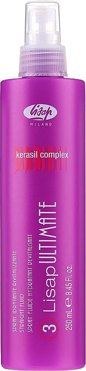 Spray revitalizante protector de calor con complejo kerasil - Lisap Milano Lisap Ultimate 3 Straight Fluid Spray