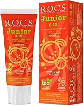 Perfumería y cosmética Pasta dental para niños anticaries con calcio, sabor a frutas - R.O.C.S. Junior