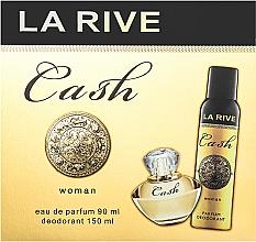 Perfumería y cosmética La Rive Cash Woman - Set (edp/90ml + desodorante/150ml)