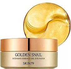 Perfumería y cosmética Parches para contorno de ojos con baba de caracol - Skin79 Golden Snail Intensive Essence Gel Eye Patch