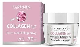 Perfumería y cosmética Crema facial con colágeno - Floslek Collagen Up Nutrii-collagen Cream 70+