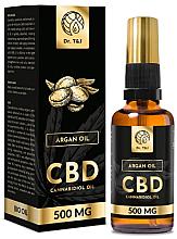 Perfumería y cosmética Aceite de argán natural CBD 500mg - Dr. T&J Bio Oil
