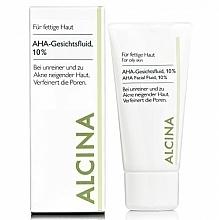 Perfumería y cosmética Fluido facial antiedad con ácido de frutas - Alcina Fm Aha Fluid