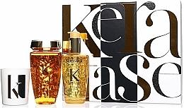 Perfumería y cosmética Set - Kerastase Elixir Ultime Luxury Gift Set (champú/250ml + aceite/100ml + vela/100g)