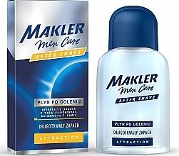 Perfumería y cosmética Loción aftershave con aroma a cardamomo y cedro - Makler Attraction After Shave