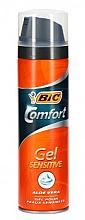 Perfumería y cosmética Gel de afeitar para piel sensible con aloe vera - Bic Comfort Sensitive