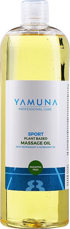 Aceite de masaje corporal de romero y menta - Yamuna Peppermint Rosemary Vegetable Massage Oil