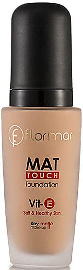 Base de maquillaje matificante - Flormar Mat Touch Foundation