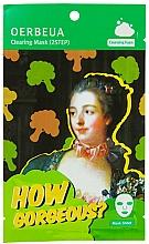 Perfumería y cosmética Mascarilla facial de tejido bifásica con extracto de brócoli - Oerbeua How Gorgeous? Mask Sheet
