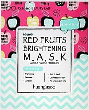 Perfumería y cosmética Mascarilla facial de tejido con extracto de frutos rojos - Huangjisoo Red Fruits Brightening Mask