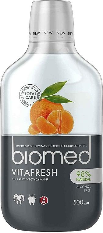 Enjuague bucal natural para un aliento fresco - Biomed Citrus Fresh Mouthwash