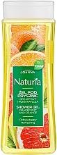 Perfumería y cosmética Gel de ducha con extracto de pomelo y naranja - Joanna Naturia Grapefruit and Orange Shower Gel