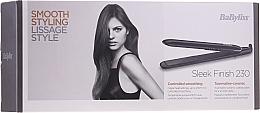 Perfumería y cosmética Plancha de pelo cerámica - BaByliss ST255E Sleek Finish 230