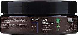 Perfumería y cosmética Gel de fijación para cabello con bayas de goji - BioMAN Fixative Gel