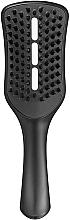 Perfumería y cosmética Cepillo de ventilación, negro - Tangle Teezer Easy Dry & Go Jet Black
