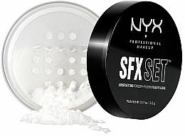 Perfumería y cosmética Polvo suelto fijador de maquillaje - NYX SFX Setting Powder
