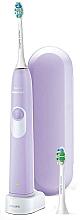 Perfumería y cosmética Cepillo dental eléctrico sónico con dos cabezales, lila - PHILIPS Sonicare HX6212/88