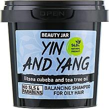 Perfumería y cosmética Champú con litsea cubeba & aceite de árbol de té - Beauty Jar Shampoo For Oily Hair