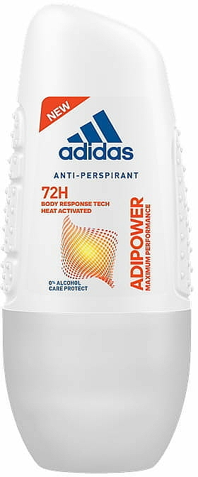 Roll-on antitranspirante 72hs protección - Adidas Adipower Roll-On Woman 72H