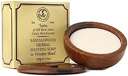 Perfumería y cosmética Jabón de afeitar con aroma a sándalo - Taylor Of Old Bond Street Sandalwood Herbal Shaving Soap