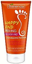Perfumería y cosmética Exfoliante para pies y talones con piedra pómez natural - Bielenda Happy End Peeling Feet And Heels With A Pumice Stone Natural