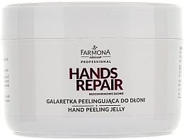Perfumería y cosmética Exfoliante para manos con melocotón - Farmona Farmona Brzoskwiniowe Dlonie