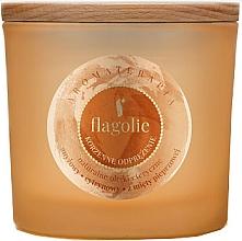 Perfumería y cosmética Vela aromática en tarro, canela - Flagolie Fragranced Candle Cinnamon Refreshing