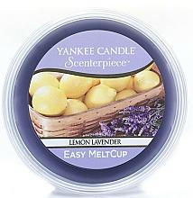 Perfumería y cosmética Cera perfumada-limón y lavanda, de fácil derretimiento - Yankee Candle Lemon Lavender Melt Cup
