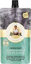 Perfumería y cosmética Champú para la estimulación del crecimiento capilar con extracto de pino - Las recetas de la abuela Agafia