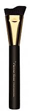 Perfumería y cosmética Brocha biselada para contornos de maquillaje con cerdas sintéticas, 103 - Pierre Rene