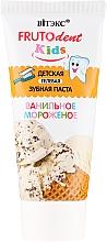 Perfumería y cosmética Pasta dental sin flúor con sabor a helado - Vitex Frutodent Kids