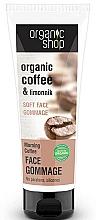 Perfumería y cosmética Exfoliante facial suave orgánico con extracto de café verde y limoncillo - Organic Shop Gommage Face