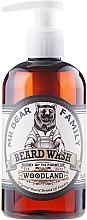 Perfumería y cosmética Champú para barba a base de tensioactivos de origen vegetal - Mr. Bear Family Beard Wash Woodland