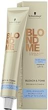 Perfumería y cosmética Crema para la decoloración y matización del cabello - Schwarzkopf Professional BlondMe Bleach & Tone
