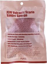 Perfumería y cosmética Esponja artesanal exfoliante de Konjac natural - Purito Jeju Volcanic Scoria Konjac Sponge