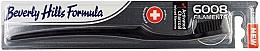 Perfumería y cosmética Cepillo dental de dureza suave, carbón activado - Beverly Hills Formula 6008 Filament Charcoal Toothbrush