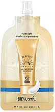 Perfumería y cosmética Crema protectora solar para rostro, SPF50 - Beausta UV Protector Sunscreen SPF50