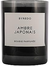 Perfumería y cosmética Vela perfumada, Ámbar japonés - Byredo Fragranced Candle Ambre Japonais
