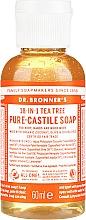 Perfumería y cosmética Jabón líquido de coco, oliva y jojoba con árbol de té - Dr. Bronner's 18-in-1 Pure Castile Soap Tea Tree