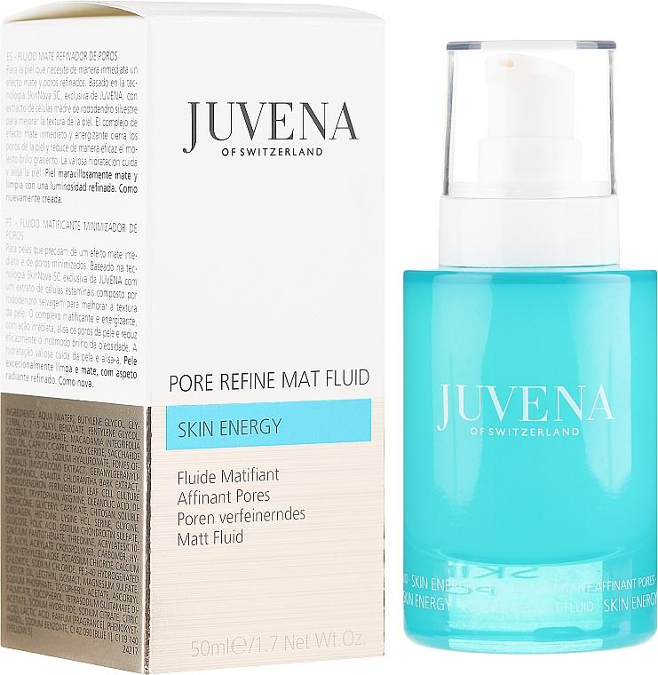 Fluido facial matificante con extracto de rododendro silvestre - Juvena Skin Energy Pore Refine Mat Fluid