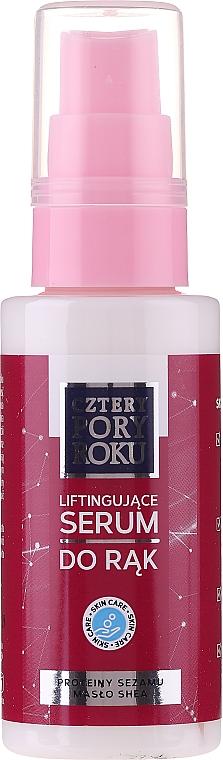 Sérum de manos con proteínas de sésamo y manteca de karité - Cztery Pory Roku Hand Lifting Serum