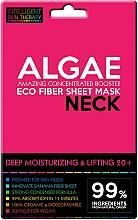 Perfumería y cosmética Mascarilla de tejido hidratante para cuello con algas, efecto lifting - Beauty Face IST Deep Moisturizing & Lifting Neck Mask Algae