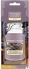 Perfumería y cosmética Ambientador de coche con aroma a lavanda y roble - Yankee Candle Car Jar Dried Lavender & Oak