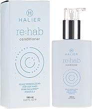 Perfumería y cosmética Acondicionador equilibrante con aceites de argán y arándano - Halier Re:hab Conditioner
