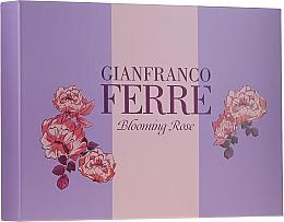 Perfumería y cosmética Gianfranco Ferre Blooming Rose - Set (edt/50ml + loción corporal/100ml)