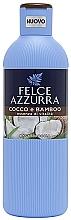 Perfumería y cosmética Gel de ducha con coco & bambo - Felce Azzurra Coconut and Bamboo Body Wash