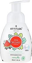 Perfumería y cosmética Jabón de manos líquido con sandía y coco - Attitude Foaming Hand Soap Watermelon & Coco