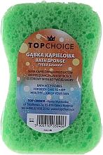 Perfumería y cosmética Esponja de baño exfoliante Motyl, 30406, verde - Top Choice